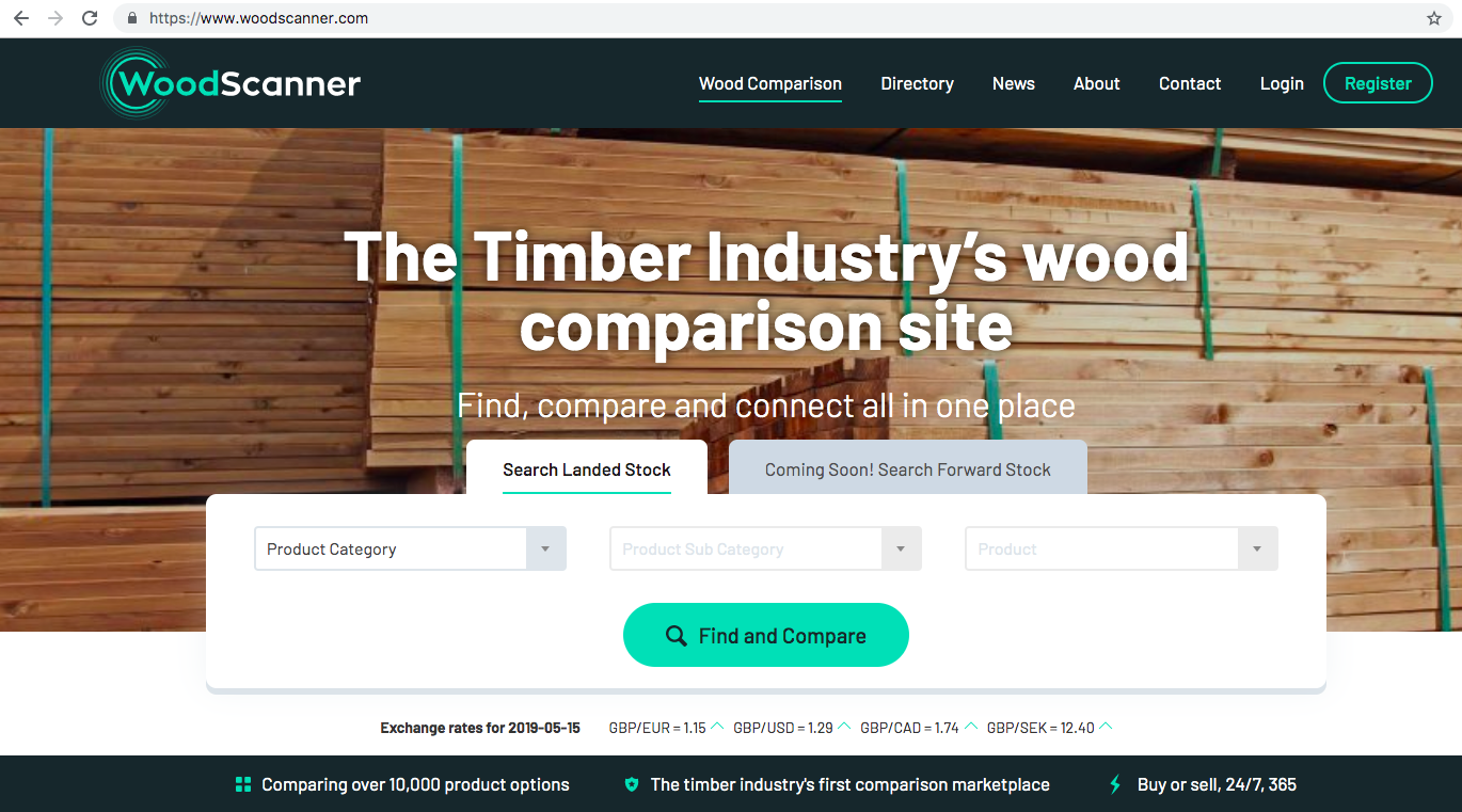 We are very proud to have launched WoodScanner.com